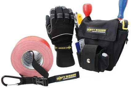 Work gloves and bags for the Performing Professionals