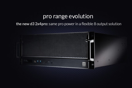 d3 Technologies Unveils 2x4pro Media Server