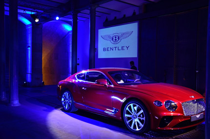 Launch of the new Bentley Continental GT